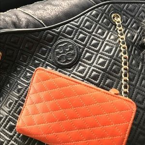 Summer quilted leather M Barney's New York lnwot